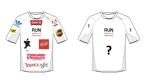 Running-Shirt mit Logos